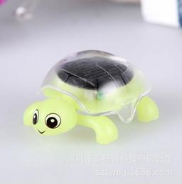 2019 großhandel solargarten neuheiten Solar Mini Modell Turtle Puzzle Bildung Lehrmittel Hersteller verkaufen Großhandel