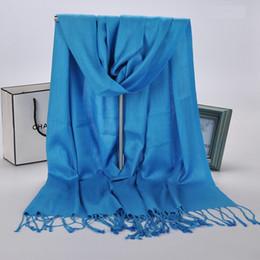 2019 brand pashmina Твердая женщина шарф обертывания искусственный хлопок шарфы женщины Шаль пляж унисекс зимние шарфы бренд стиль кисточки мода пашмины XS-001