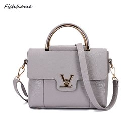 Wholesale Ladies Handbags Famous Brand - Wholesale- Hot Fashion Women Handbags Lady Mini Bag Designer Shell Bag Famous Brands High Quality Leather Messenger Bags Bolsa ST288Z