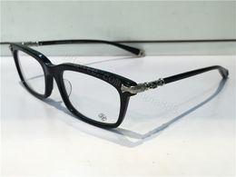 Wholesale Full Prescription - NEW fashion eyeglass chrom-H FUN HATCH glasses prescription men eye frame brand designer prescription glasses vintage frame steampunk style