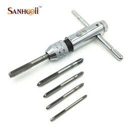 Alto Qulatiy Mini Steel Ratchet Wrench Tap M3-M8 Accessorio utensili manuali fai da te da clip metallo coccodrillo fornitori