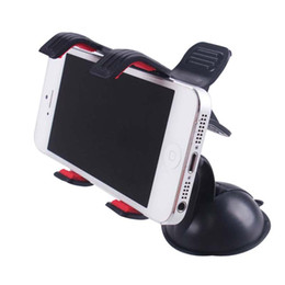 Wholesale Car Dvr Windshield - Universal support movil car phone holder 360 Degree Rotation Suction Cup Car Windshield Phone stand for iphone LG g2 Car DVR GPS