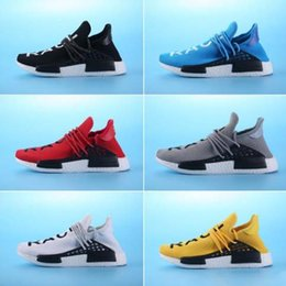 Wholesale Womens Cheap Winter Snow Boots - Personality Pharrell Williams Shoes,NMD Human Race Mens Womens Running Training Sneakers Discount cheap Best Quality NMD Human race Shoe