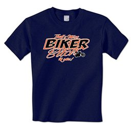Wholesale Shorts Ass - mens t shirt That's Miss Bike Bitch To You - Bad Ass Bike Chick Motorcycle Mens T-Shirt