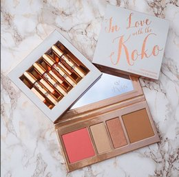 Wholesale Love Doll Sizes - 2017 New Kylie Koko Kollection 2 lipstick collection kit In Love With The Koko 4 Piece Doll Bunny