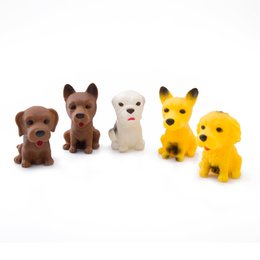 Wholesale Dog Gag - Lovely Mini Dogs Beanie Boos Minifigures Screaming Squeeze Toy Hand Lepin Stress Relief Gags Jokes Receiver Fidget Toy
