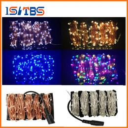 Wholesale Round Eu Adapter - 20M 30M 50M Silver Wire 200 300 500 Leds LED String Light Starry Lights XMAS Fairy Lights+Adapter (UK,US,EU,AU Plug)