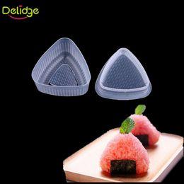 Wholesale Bento Tools Wholesale - Delidge 2 pcs set Triangle Sushi Mold Food -Grade Plastic Rice Ball Maker Bento Press Mould Japanese Food Rice Sushi Tools