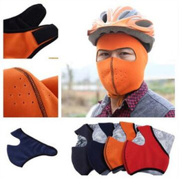 Wholesale Breathable Ski Masks - Hot sale!men fashion winter breathable protective protect ears riding masks wind warm sports ski wool kitting face mask wholesale