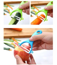 Wholesale Ceramic Candy - Kitchen Vegetable Peeler Candy Color Kitchen Good Helper Gadgets Vegetable Fruit Ceramic Cutlery Colorful Peeler