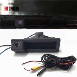 Wholesale Bmw E39 Trunk - Rear View Camera Car Reverse Backup Boot Trunk Handle Camera Special for BMW 5 series X5 3 series X1 08-12 E39 E90