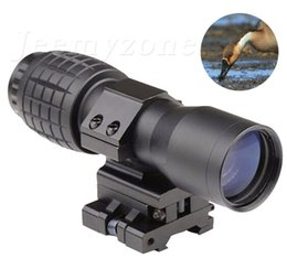 Wholesale Sights Magnifier - 4X Magnifier FTS Flip to Side for Similar Scopes Sights