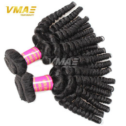 Wholesale Hair Bouncy Loose Curls - 8A Human Virgin Funmi Hair Extension 10 Bundles Brazilian Aunty Funmi Loose Wave Bouncy Curls Funmi Human Hair Wave