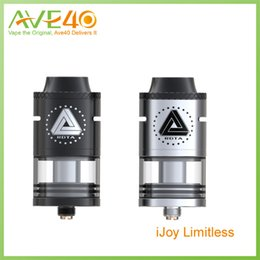Wholesale Post Direct - Wholesale-iJoy Limitless Two Post RDTA Tank 4ml Juice Capacity Dual Slotted Direct Airflow Vs IJOY Acme Vape Tank