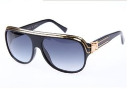 Wholesale High Quality Aviator Glasses - High Quality Brand Sun glasses mens Millionaire Sun Glasses men women sunglasses man Aviator sunglasses