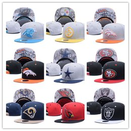 Wholesale New Popular - 2017 new Football Snapbacks Cheap Sports Team Caps High Quality Cheap Snap Backs women and men Hats Most Popular Sports Team Flat Hats