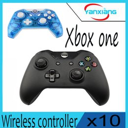 Wholesale Xbox One Console New - 10pcs New Wireless Controller For Xbox One Controller Gamepad Joystick For Microsoft XBOX One Console yx-one-1