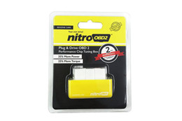 Wholesale Diesels Chip - 2017 New NitroOBD2 Chip Tuning Box for Diesel Car Plug and Drive OBD2 Chip Tuning Box Vehicle Fault Diagnosis Instrument Code Scan Wholesale