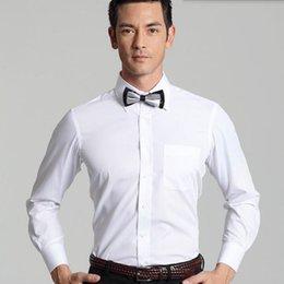 Sur mesure chemise hommes et chemise de mariage moderne le plus récent dîner de fête à manches longues de la chemise robe interview ? partir de fabricateur