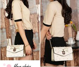 Wholesale Han Bags - The 2017 new women's bag han edition fashion styling handbag single shoulder slanted bag of women's bag