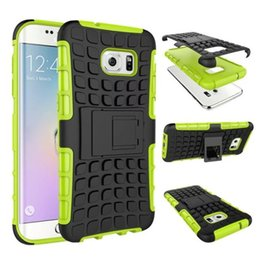 Wholesale Iphone 5c Armor Case - Kickstand Rugged Armor Robot Case Shockproof Defender Hard Back Phone Cases For iPhone 8 6 6S 7 Plus 5 5S SE 5C 4 iPod touch 5 6