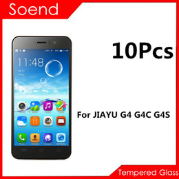 Wholesale Screen Protector Jiayu - 10Pcs Lot Safety Front Screen Protector Tempered Glass For Jiayu G4 G4S G4C G 4 Protective Film Protection Cover Phone 2