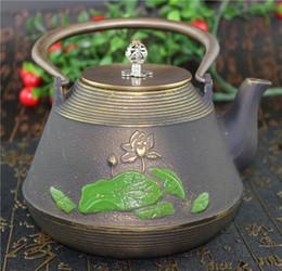 Thé Clips fourchette avec manche en bois pour Cast Iron théière Kung Fu pot de thé set de chaleur