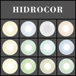 Wholesale Eyes Color Contact Lenses - Super Natural Hidrocor Color Contact Lens Without Limbal Ring Ready Stock Free Shipping 1 pair = 2 pieces