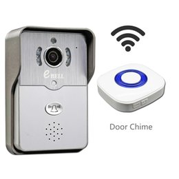 Wholesale Security Camera W - eBELL Home Security HD WiFi Video Doorbell Camera w  Door Chime Support Mobile APP Unlock See Talk To Visitor Wide Angle Monitor