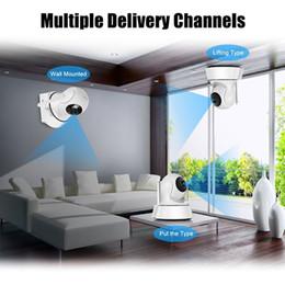 2019 cúpula câmera de segurança metal Início IP Security Camera WiFi Câmera de Vídeo Vigilância 720P Night Vision Motion Detection P2P Camera Baby Monitor Zoom
