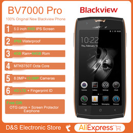 """Wholesale Ip68 Mobile Phone - Blackview BV7000 Pro Smartphone 4G Waterproof IP68 5.0""""FHD MT6750T Octa Core Android 6.0 Mobile Phone 4GB+64GB 13MP cell phone"""