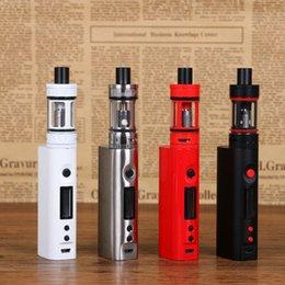 Wholesale Electronic Ecigarette Kit - 1pc Kanger Topbox Mini Kit 75W TC ecigarette 4ml tank vaporizer electronic cigarettes with kbox box mod 510 thread atomiz
