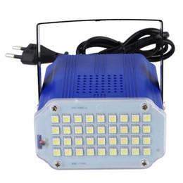 Wholesale Led Festa - Wholesale-Mini 36pcs high power 5050 LED Stage Light DJ Strobe Light Flash Light Club Party festa Disco Stroboscope Bulb(EU) FULI
