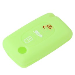 Wholesale C3 Picasso - Remote 3 Buttons Key Fob Case Silicone Cover fit for CITROEN C2 C3 C4 C5 C6 Picasso AUP_40H
