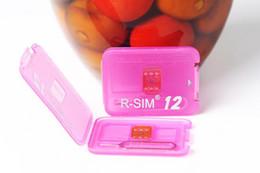 2019 iphone sim unlock ios8 Ursprüngliche R-SIM 12 RSIM12 entsperren Karte für iPhone X ios11 rsim 12 rsim12 Entsperren iphone8 8p 7 7P 6 6S IOS 11-10.x 4G CDMA SB AU SPRINT