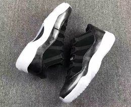 Wholesale Air Shoe Brand - Air Retro 11 Low Barons Professional Sneakers New Brand Running shoes for men and women size 5-13 528895-010