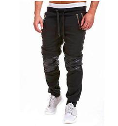 Wholesale Dance Pants Man - Wholesale- autum winter 2016 Fashion Men Casual Sweatpants Jogger Dance Sportwear Baggy Harem Slacks Trousers Pants