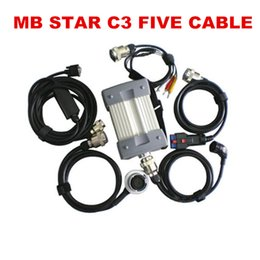 Wholesale Mercedes Module - Best Quality MB Star C3 Support all modules Professional for Mercedes-Benz Diagnostic Tool All New red Relay without HDD