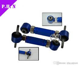 Wholesale Camber Civic - Free shipping Adjustable Rear Camber Kit fit for Civic CRX Del Sol Integra Blue Red Purple in stock ready to ship