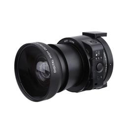Wholesale Mp Hd Digital Camera - Wholesale-AMKOV OX5 4X digital 5X Optical Zoom Wifi Digital Camera Camcorder Mini Selfie Lens-style 20MP Full HD 1080P 30fps PC Camera