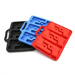 Wholesale Plastic Ice Maker - Bar Party Drink Ice Tray Cool Pistol Gun Ice Cube Style Ice Maker Mould
