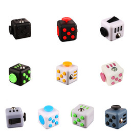 Wholesale First Plastic Toys - 11 color 2017 New Fidget cube camouflage fidget toys the world's first American decompression anxiety Toys