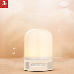 Wholesale Compact Stereos - Creativity stereo lamp USB interface Nightlight Compact and portable Music lights birthday present Valentine's Day present