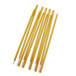 10 unids / lote 11 Secciones 405 cm Acampar Senderismo Viaje De Aleación de Aluminio Reemplazo de Repuesto Tienda de Var Postes Rod Bar desde fabricantes