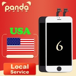 Wholesale Iphone Screen Free Shipping - Free Shipping Grade AAA+++ LCD Display Touch Digitizer 4.7 inch Screen with Frame Assembly Replacement For iPhone 6