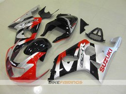 Wholesale Gsxr K2 - New ABS Fairing kits for 2000 2001 2002 SUZUKI GSX-R1000 K2 fairing kit GSXR1000 00 01 02 GSXR 1000 fairings bodywork Set black silver red