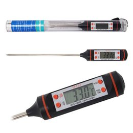 Wholesale Digital Pen Thermometer - TP101 Pen Digital Temperature Meter Food Thermometer Mini Digital Cooking Thermometer Sensor Prober BBQ Free DHL XL-G129