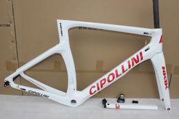 Wholesale Carbon Bike Frame Fork Seatpost - Cipollini nk1k frameset! 2017 Red T1100 1K Carbon Frame,fork,headset,seatpost Size:XXS,XS,S,M,L,Cipollini RB1000 road bike frame BB30 BB68