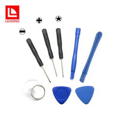 Argentina 8 en 1 herramientas de apertura del kit de palanca de reparación con destornillador estrella de 5 puntos para Apple iPhone 4 5 6 7 DHL envío gratuito Suministro
