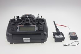 Wholesale 9ch Rc Helicopter - Flysky 2.4G 9ch FS FS-TH9X Transmitter & Receiver Combo TX RX Control System For RC Helicopter Airplane F02146